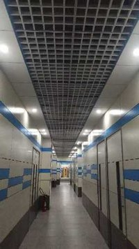 Grid & Gypsum false ceiling