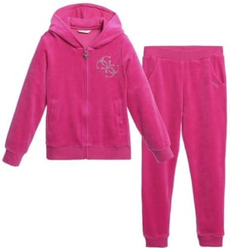 Pink Velvet Track Suit