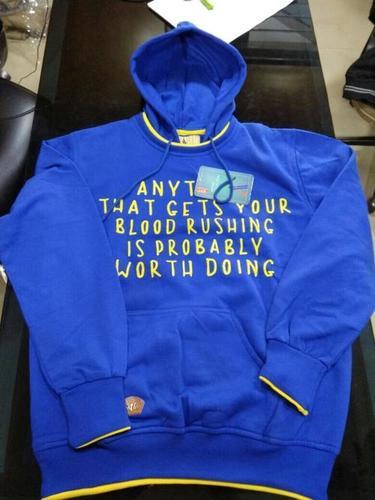 Stylish Blue Hoodie
