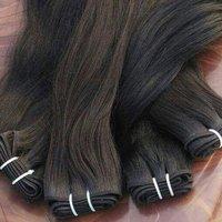 Raw Indian machine  weft hair