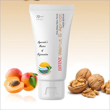 Walnut & Apricot Face Scrub
