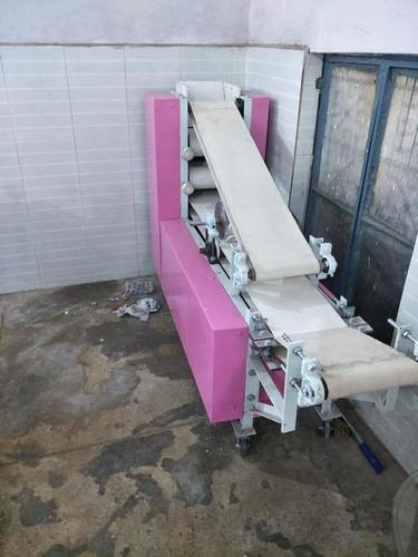 """PANI PURI 10"""" BIG MACHINE WITH FOUR ROLLER"""