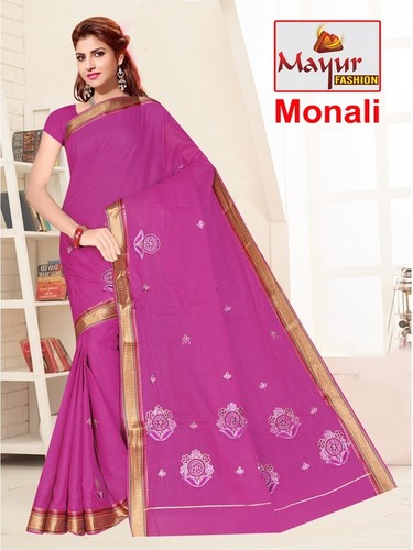 MONALI COTTON WORK SAREE
