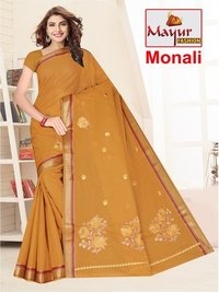 Fancy Dyed Work Saree