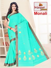Heavy Embroidery Saree Manufacturer
