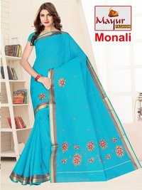Best Embroidery Work Saree