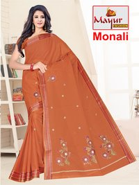 Dyed Work Saree Manufacturer