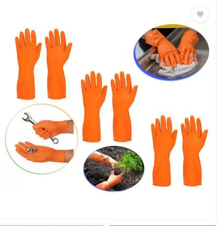 Chemical Protection Rubber Gloves