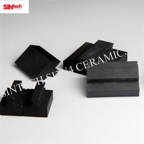 Pressure sintering silicon nitride