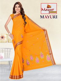Dyed Work Saree manufacturer