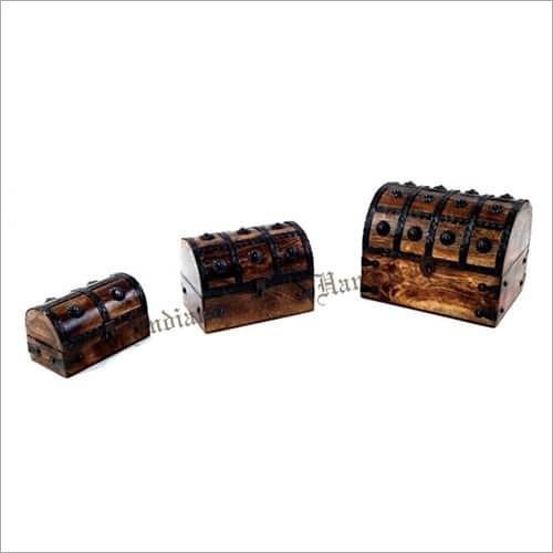 Wooden Trunk Box