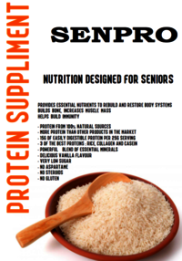 Senior Nutrition Powder (SenPro-S)
