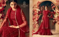 New Latest Designer Sharara Suits