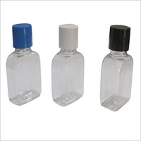 Cosmetic Transparent Plastic Bottle