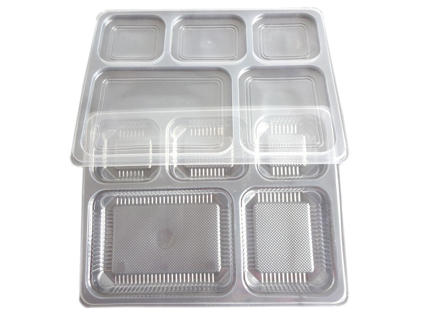 5 Section Tray With Lid