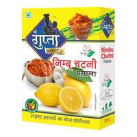 Lemon Chutney Masala