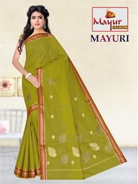 Cotton Work Saree
