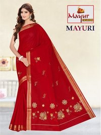 Work Sarees Wholesaler