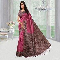 Plain Mysore Silk Saree