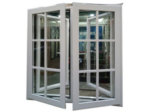 UPVC Villa Grill Window