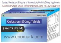 Colostrum 500mg.Tablets