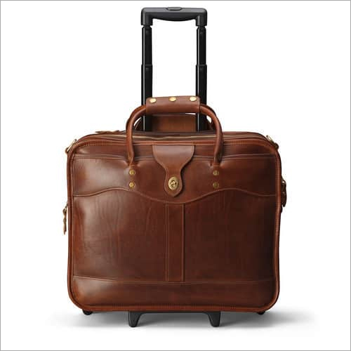 Trolley Bag PVC Leather