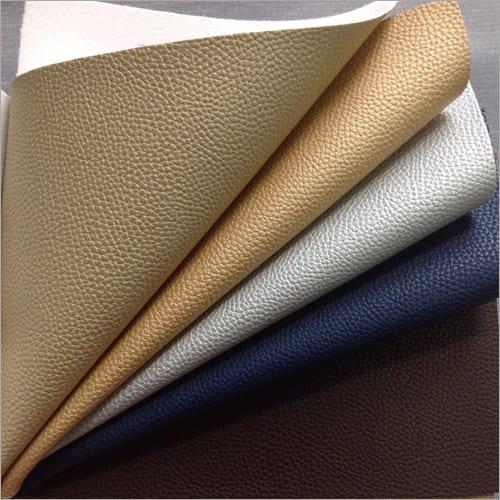 PVC  Synthetic Plain Leather