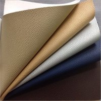 PVC  Synthetic Plain Leather