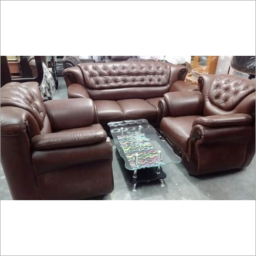 Sofa Plain Rexine Leather