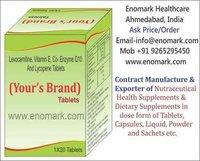 Levocarnitine, Vitamin E, Co- Enzyme Q10 And Lycopene
