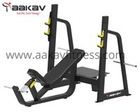 Olympic Incline Bench X1 Aakav Fitness