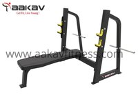 Olympic Flat Bench X1 Aakav Fitness