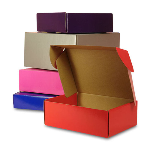 Flexo And Offset Colored Corrugated Box