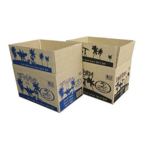 Flexo Print Corrugated Box