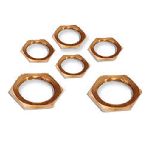 Brass Hex Lock Nuts