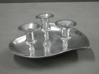3 Lights Tray Candle Holder