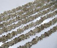 Natural Smoky Irregular Chip Gravel Uncut Nugget Shape beads