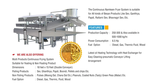 Automatic Namkeen Fryer