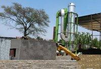 Biomass turbo dryer