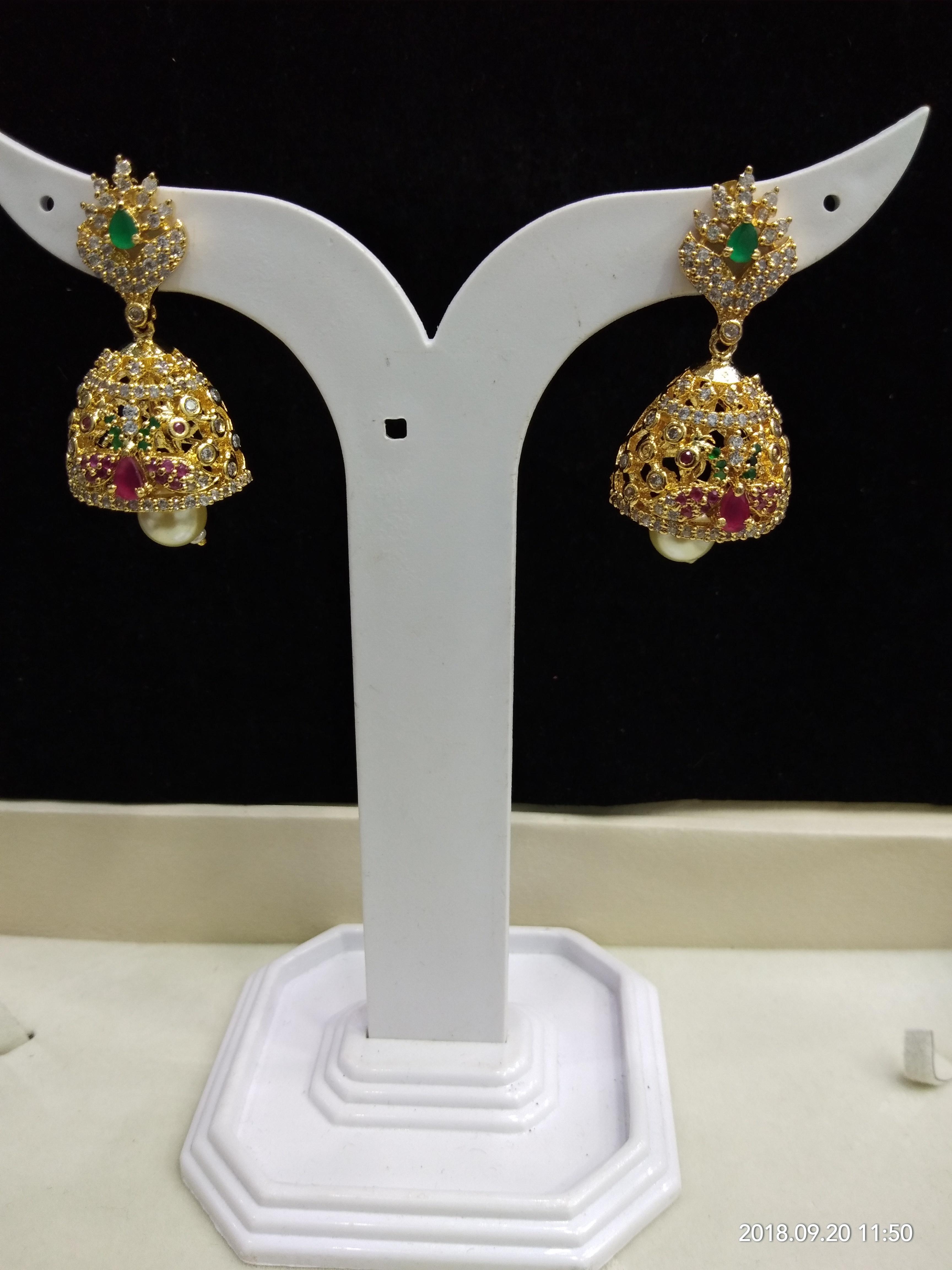 Gold Plated Imitation Chokar Set