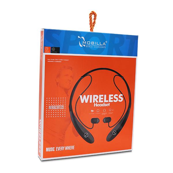 WIRELESS STEREO HEADSET-NECKBAND (05)