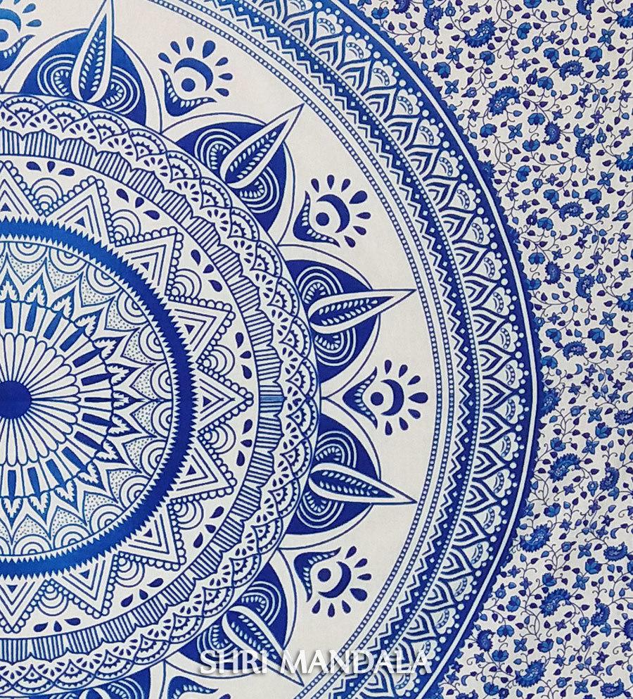 Indian Mandala Duvet Quilt Cover Set
