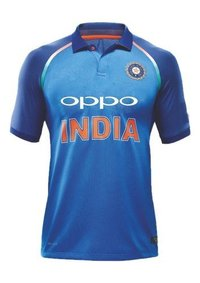 Oppo Team India Jersey