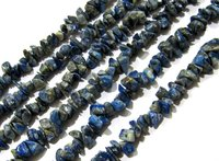 Natural Lapis Lazuli Irregular Chip Gravel Uncut Nugget beads