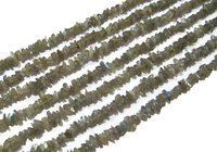 Natural Labradorite Irregular Chip Gravel Uncut Nugget  beads