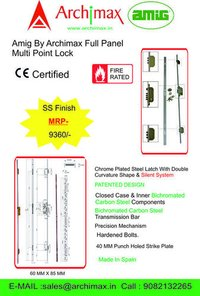 MORTISE SOFT CLOSING LOCK