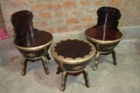 Decorative Table And Stool
