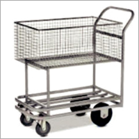 200 Lts Rectangular Type Trolley