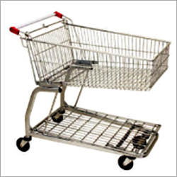 Supermarket Trolley Capacity 65 Lts- 125 Lts