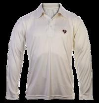 SG Cricket Full Sleeves White T-shirt